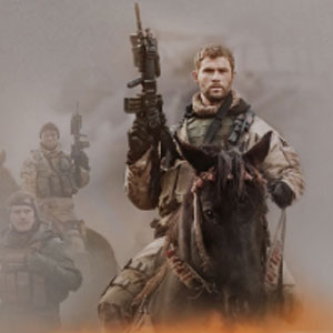 High engagement & CTR for the movie 12 Strong|Bonzai's high impact TruSkin format with animations and hot-spots|OMD Australia