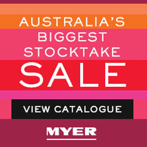 Bonzai partnered with NewsCorp to create an engaging catalogue featuring Myer's product line using expandable banner format